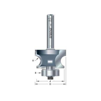 Trend 9/73 x 1/2 TCT Bearing Guided Corner Bead Cutter 7.0 Radius - TRE97312TC