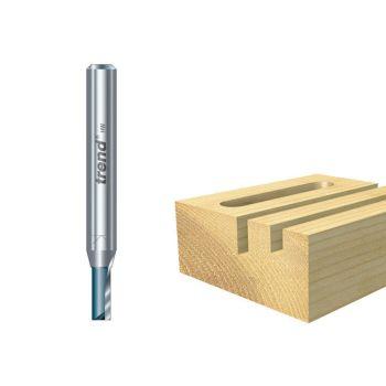 Trend C022 x 1/4 TCT Two Flute Cutter 12.7mm x 31.8mm - TREC02214TC