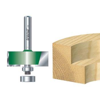 Trend C040 x 1/4 TCT Bearing Guided Rebater 35.0mm - TREC04014TC