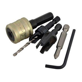 Trend Plug Cutter No10 Screw Set - TRESNAPPC10S