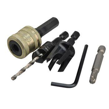 Trend Plug Cutter No12 Screw Set - TRESNAPPC12S