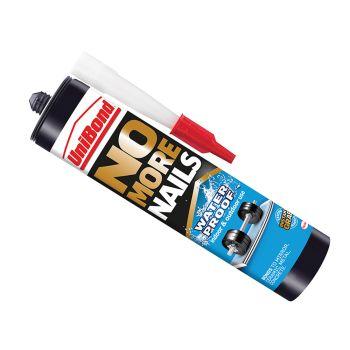 Unibond No More Nails Waterproof Interior / Exterior - Solvent Free 300ml - UNI1427383