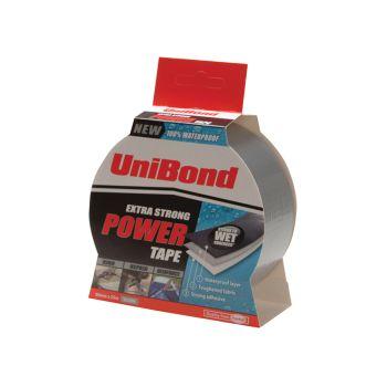 Unibond Powertape Silver 50mm x 25m - UNI1518497