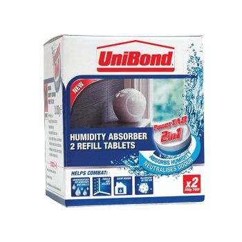 Unibond Small Moisture Absorber Neutral Power Tab Refill (Pack of 2) - UNI1554712