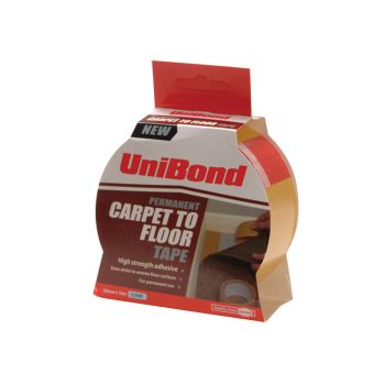 Unibond Carpet Tape Permanent 50mm x 10m - UNI1667748