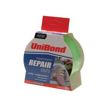 Unibond Transparent Repair Tape 50mm x 25m - UNI1668006