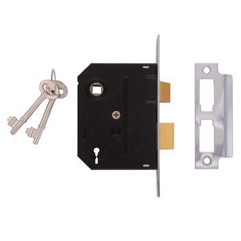 UNION 2295 2 Lever Mortice Sashlock Polished Brass 76mm 3in Visi - UNNY2295PL30