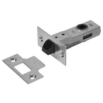 UNION Y2600 Tubular Latch Essentials Zinc Plated 79mm 3in Visi - UNNY2600ZP30