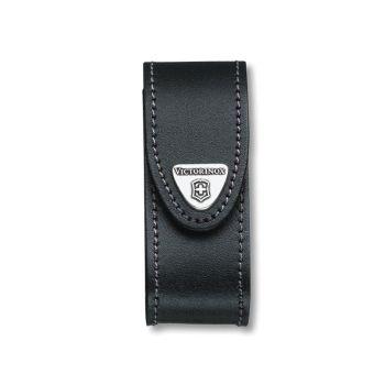Victorinox Black Leather Belt Pouch (2-4 Layer) - VIC4052030