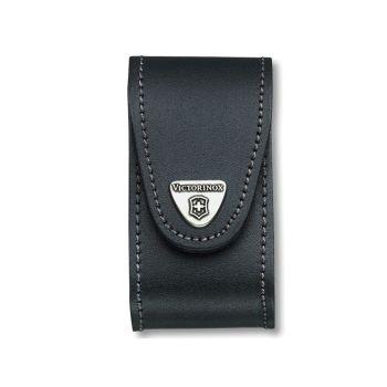 Victorinox Black Leather Belt Pouch (5-8 Layer) - VIC4052130
