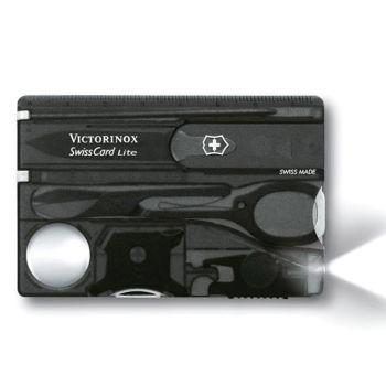 Victorinox SwissCard Lite Translucent Black Blister Pack - VICJSWCLONB