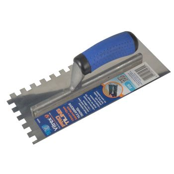 Vitrex Professional Notched Adhesive Trowel 10mm Stainless Steel 11 x 4.1/2in - VIT102909