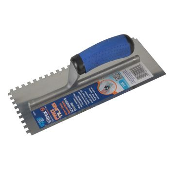 Vitrex Professional Notched Adhesive Trowel 6mm Stainless Steel 11 x 4.1/2in - VIT102957
