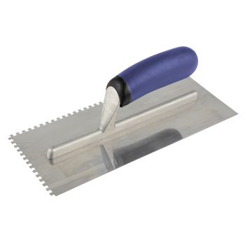 Vitrex Professional Notched Adhesive Trowel 4mm Stainless Steel 11 x 4.1/2in - VIT102970