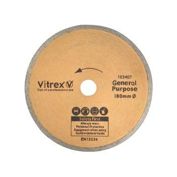 Vitrex Diamond Blade Standard 180mm - VIT103407