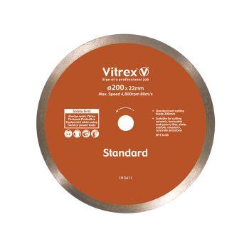 Vitrex Diamond Blade Standard 200mm - VIT103411