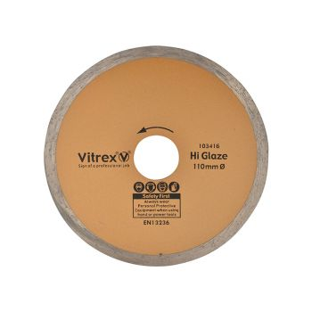 Vitrex Diamond Blade Hi Glaze 110mm - VIT103416
