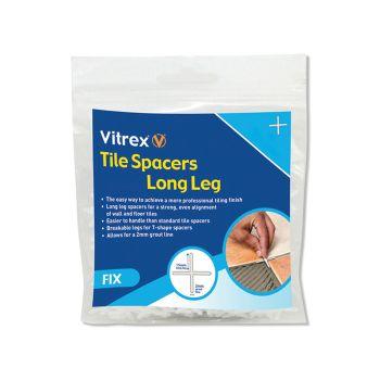 Vitrex Long Leg Spacer 5mm Pack of 100 - VITLLS5100