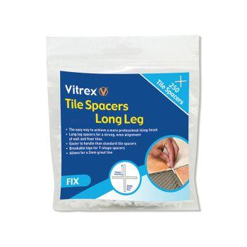 Vitrex Long Leg Spacer 5mm Pack of 250 - VITLLS5250