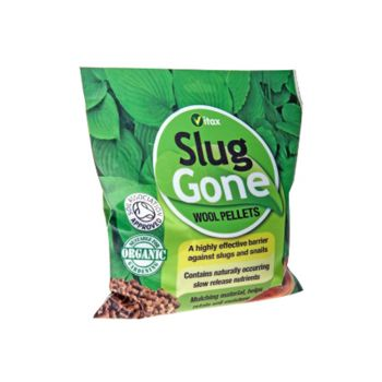 Vitax Slug Gone Wool Pellets 3.5 Litre - VTX5SLG35
