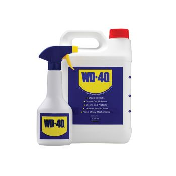 WD-40 WD-40 Multi-Use Maintenance Container & Spray Bottle 5 Litre - W/D5LITRESA