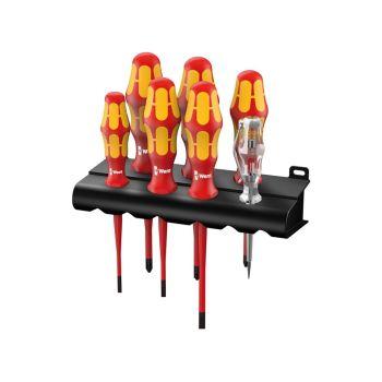Wera Kraftform Plus 160is  VDE Slimline Set of 7 SL/PH/PZ - WER006480