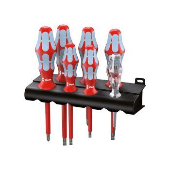 Wera Kraftform Plus VDE Stainless Steel Screwdriver Set of 7 SL/PH - WER022728