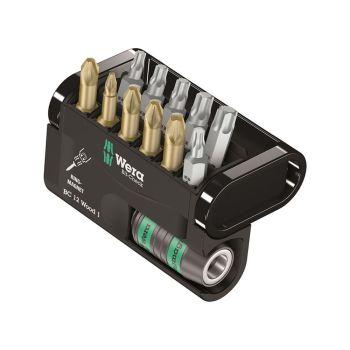 Wera Bit-Check 12 Wood 1 Torsion Set of 12 PZ PH TX - WER057423
