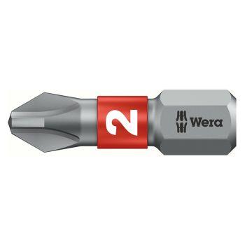 Wera Bit-Box 20 BiTorsion Bits PH2 x 25mm 20 Piece - WER057751