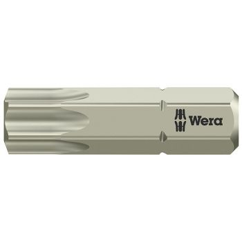 Wera 3867/1 TS Torx TX40 Torsion Stainless Steel Insert Bit 25mm - WER071038