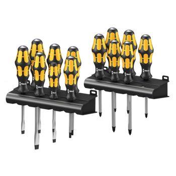 Wera Big Pack Kraftform Chiseldriver 900 Series Set, 13 Piece SL/PH/PZ/TX - WER133285