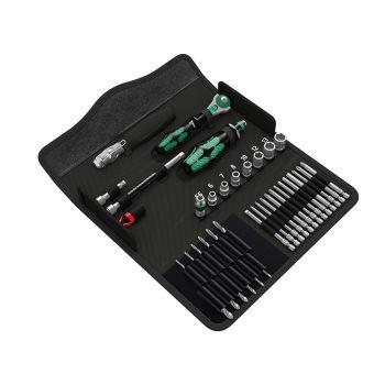 Wera Kraftform Kompakt M1 Metal Tool Set, 39 Piece - WER135928