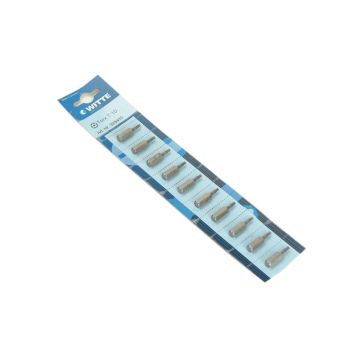 Witte Tamperproof Bits T25 25mm (Strip of 10) - WIT329483