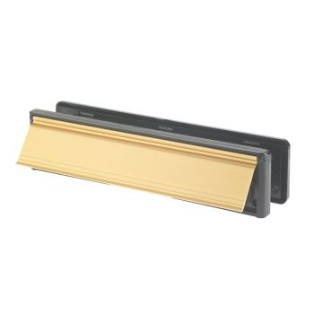 Yale Letter Plate Gold (Visi-Packed) 300mm (12in) - YALLP440634C
