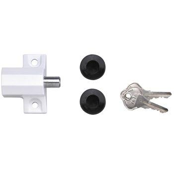 Yale P114 Patio Door Lock Grey Finish Visi-pack - YALP114DMG