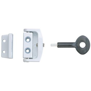 Yale P113 Toggle Window Locks White Pack of 2 - YALP2P113WE