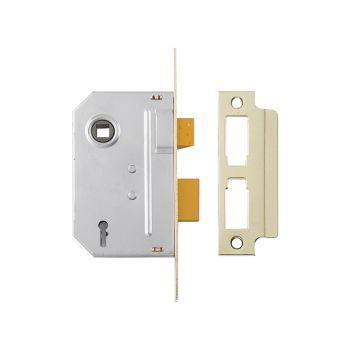 Yale PM246 Internal 2 Lever Mortice Sashlock Polished Chrome 67mm 2.5in - YALPM246CH25