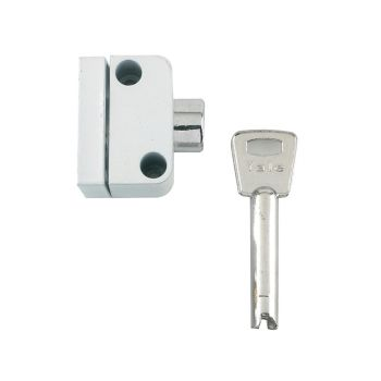 Yale 8K102 Push Button Window Lock White Finish Visi - YALV8K1022W