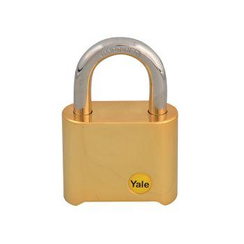Yale Y126 50mm Brass Combination Padlock - YALY12650