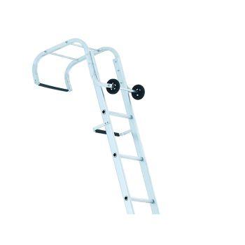 Zarges Industrial Roof Ladder 1- Part 17 Rungs 5.55m - ZAR100656
