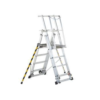 Zarges ZAP 1 Access Platform Platform Height 1.0/1.3/1.6/1.8m 4 - 7 Rungs - ZAR41326