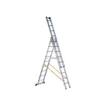 Zarges Skymaster Industrial 3-Part Combination Ladder 3 x 8 Rungs - ZAR41521