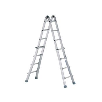 Zarges Industrial Telescopic Combination Ladder 4 x 6 Rungs - ZAR41932