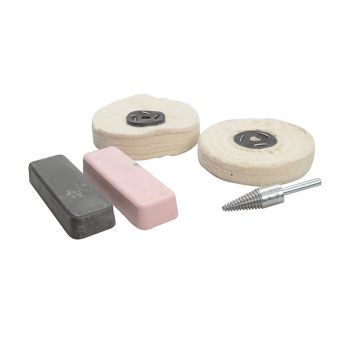 Zenith Profin Polishing Kit Ferrous Metal - Grey & Pink - ZENPFPK5A
