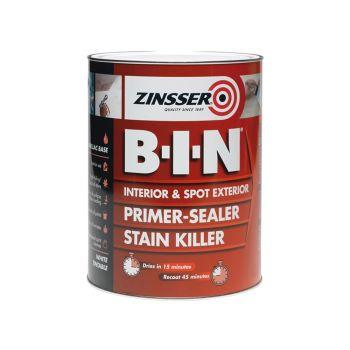 Zinsser B.I.N Primer & Sealer Stain Killer Paint 500ml - ZINBIN500