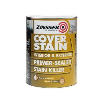 Zinsser Cover Stain Primer - Sealer 2.5 Litre - ZINCSP25L