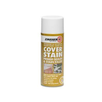 Zinsser Cover Stain Primer - Sealer Aerosol 400ml - ZINCSP400A
