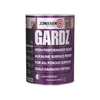 Zinsser Gardz Sealer Primer 500ml - ZINGS500
