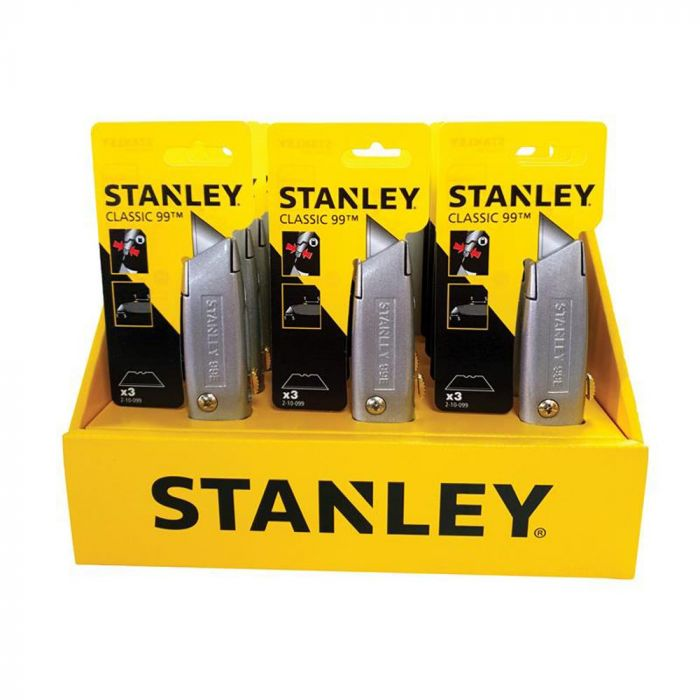 Stanley 99E Counter Display of 12 Knives