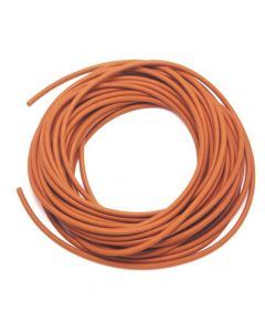 "Monument Metre Food Quality Orange 7/32in. ID. 3/8"""" OD Shore 45-55 Rubber Hose (Loose) - MON1276P"